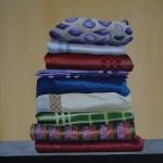 Stapel handdoeken, 40 x 50 cm, acryl