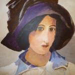 portret-geinspireerd-door-isaac-israels-65x65-cm-acryl-op-paneel