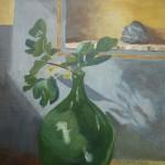 groene-vaas-30x30-cm-acryl