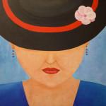 dame-met-hoed